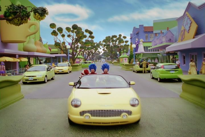 2002 ford thunderbird in the cat in the hat 2003. Black Bedroom Furniture Sets. Home Design Ideas