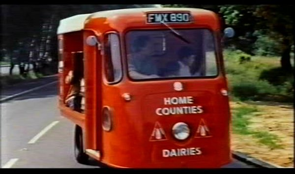 1954 Wales & Edwards Milk Float