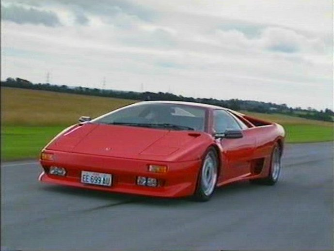"imcdb: 1991 lamborghini diablo in ""top gear, 1978-2001"""