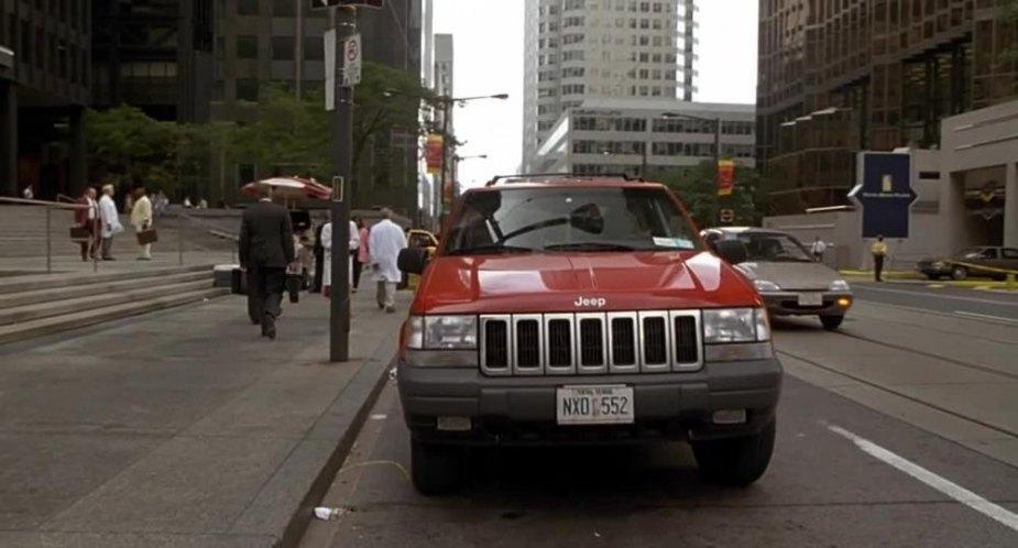 "Used 2014 Jeep Grand Cherokee >> IMCDb.org: 1996 Jeep Grand Cherokee Laredo [ZJ] in ""Half Baked, 1998"""