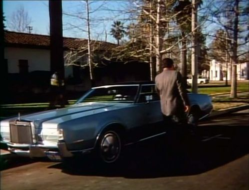 Imcdb Org 1972 Lincoln Continental Mark Iv In Quot Cannon