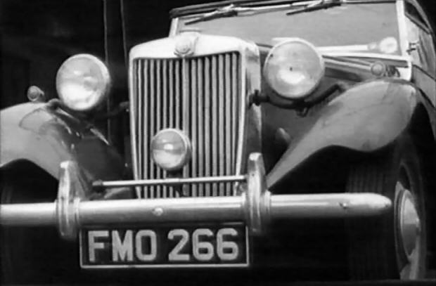 1949 MG TD Pre-production 'FMO 266'