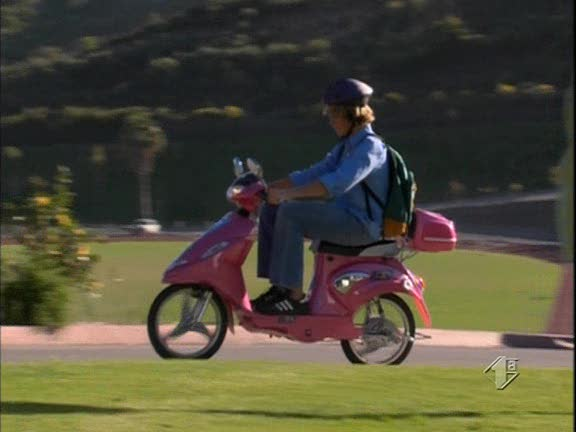 "Electric Moped Scooter >> IMCDb.org: Made for Movie Jet-X in ""Zoey 101, 2005-2008"""