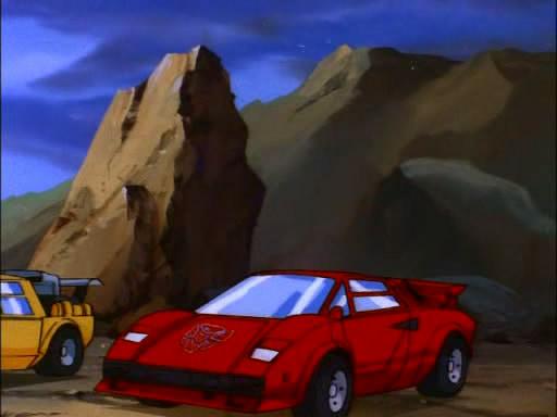 Imcdb Org Lamborghini Countach In Quot Transformers 1984 1987 Quot