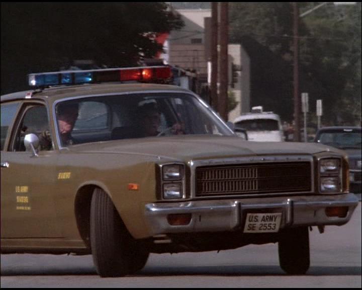 "IMCDb.org: 1977 Plymouth Fury in ""The A-Team, 1983-1987"""