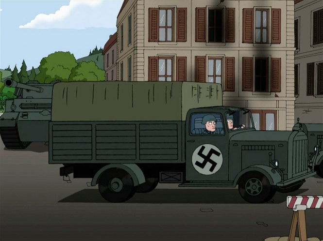 Mercedes benz l 3000 in family guy 1999 2018 for Mercedes benz under 3000