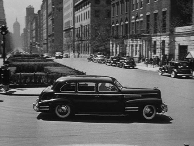 """IMCDb.org: 1941 Cadillac Fleetwood 75 in """"The Locket, 1946"""""""