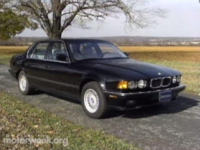 Imcdb Org  1993 Bmw 740i  E32  In  U0026quot Motorweek  1981