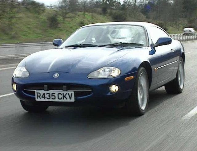 """IMCDb.org: 1997 Jaguar XK8 X100 in """"Extreme Machines, 1997"""""""