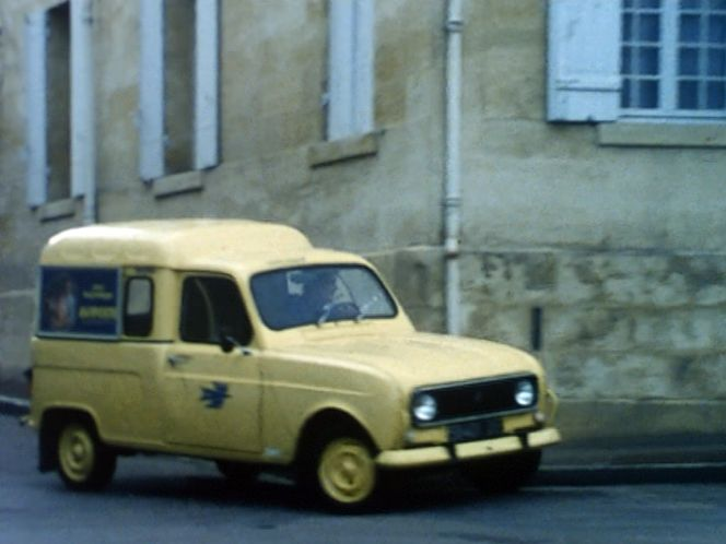 1975 Renault 4 Fourgonnette Administration