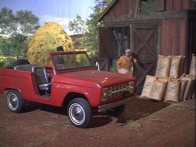 Imcdb Org 1966 Ford Bronco In Quot Green Acres 1965 1971 Quot