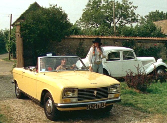 1972 peugeot 304 s cabriolet in bananes m caniques 1973. Black Bedroom Furniture Sets. Home Design Ideas