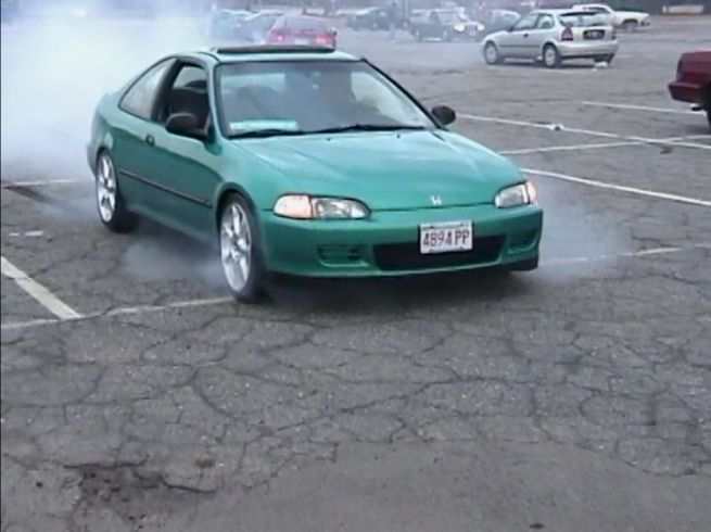 IMCDb.org: 1993 Honda Civic Coupé DX [EJ] in