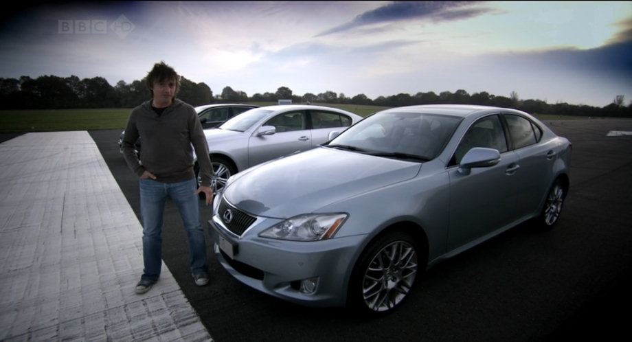 2009 lexus is 220d ale20 in top gear 2002 2015. Black Bedroom Furniture Sets. Home Design Ideas