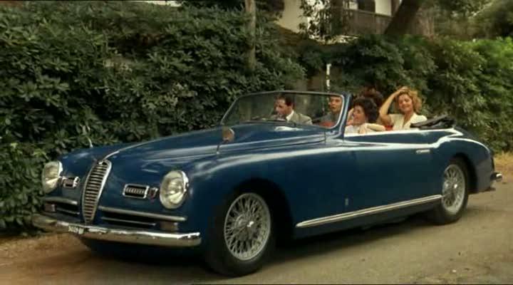 1948 alfa romeo 6c 2500 ss pininfarina in festa di laurea 1985. Black Bedroom Furniture Sets. Home Design Ideas