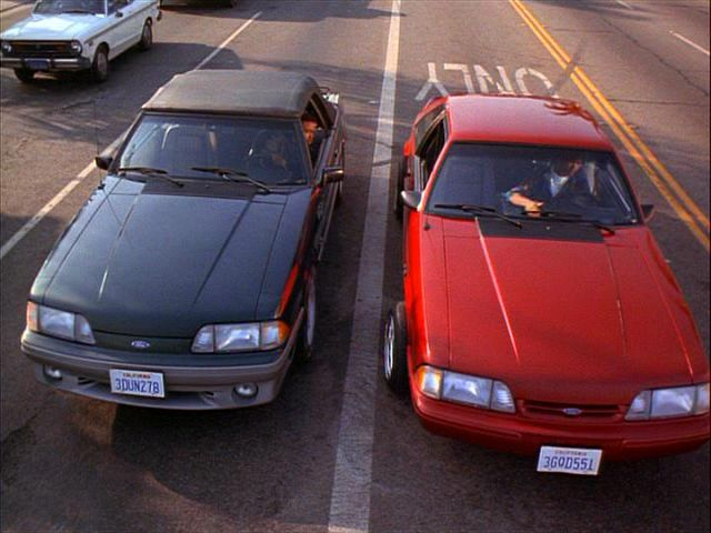 Imcdb Org 1990 Ford Mustang Lx In Quot Menace Ii Society 1993 Quot