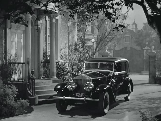 "IMCDb.org: Rolls-Royce New Phantom Springfield in ""Now, Voyager, 1942"""