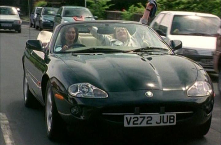 """IMCDb.org: 1996 Jaguar XK8 X100 in """"At Home with the ..."""
