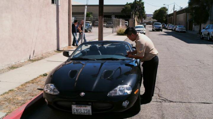 "IMCDb.org: 2000 Jaguar XKR X100 in ""Cross, 2011"""