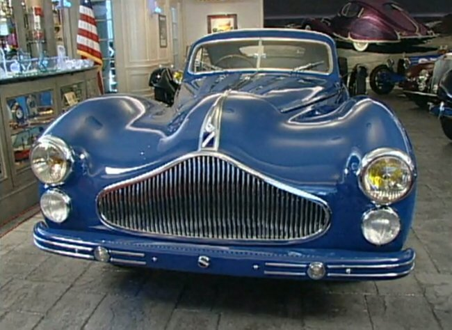 1947 Talbot-Lago T26 Grand Sport Coupé by Saoutchik
