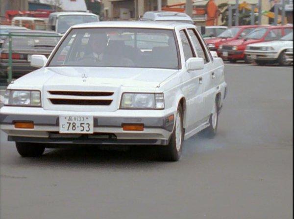 1987 Mitsubishi Debonair infomation specifications WeiLi