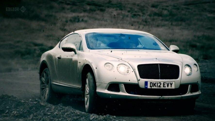 Bentley continental gt - top gear