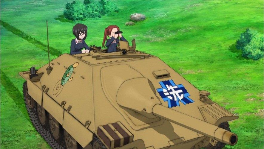 """IMCDb.org: BMM Sd.Kfz.138/2 Hetzer in """"Girls und Panzer, 2012-2013"""""""