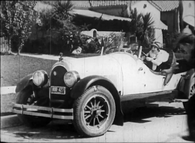 "IMCDb.org: 1925 Kissel 6-55 Gold Bug Speedster in ""Papa's Boy, 1927"""