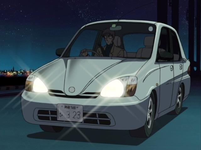 """IMCDb.org: 1997 Toyota Prius I [NHW10] in """"Meitantei Conan ..."""