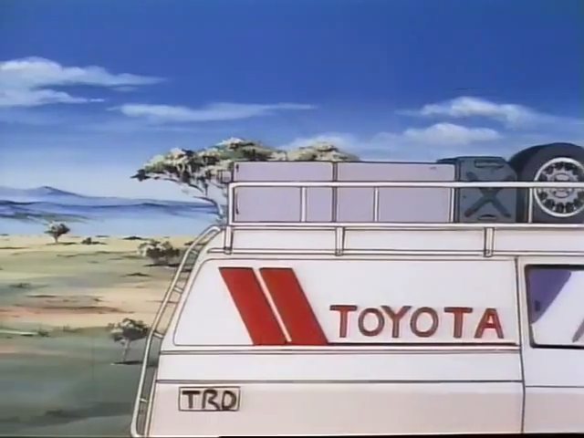 1986 Toyota HiAce Rally support van [H60]