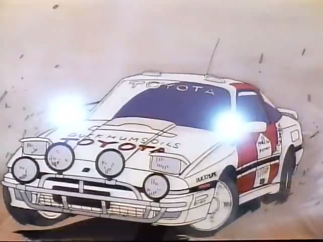 1987 Toyota Supra group A [MA70]