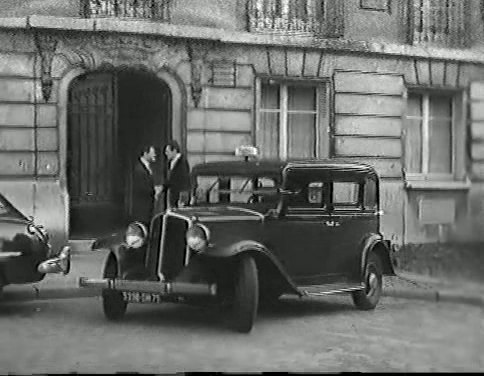 1933 renault taxi g7 type kz11 in s rie noire 1955. Black Bedroom Furniture Sets. Home Design Ideas