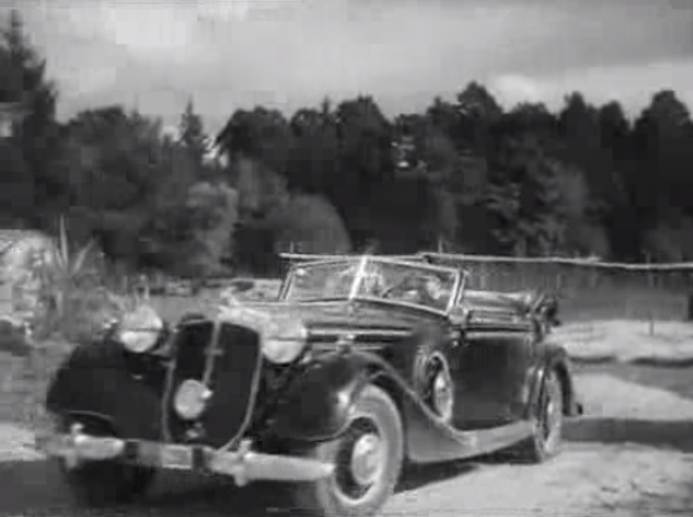 1938 Horch 853 A Sport Cabriolet [850]
