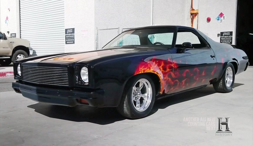 """IMCDb.org: 1975 Chevrolet El Camino in """"Counting Cars ..."""